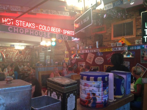 Annys Adventures - Manny's Chophouse, Haines City