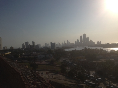 Annys Adventures Blog - Cartagena View